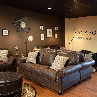 A Luxury Venue experience unlike ANY other escape room experience in CT - Wind down and relax before or after the fun.  Private Party Room Available as well