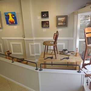 Woodworking area of Whidbey Made