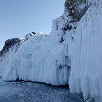 Lake Baikal. Ise winter. Nearly the Olkhon island.