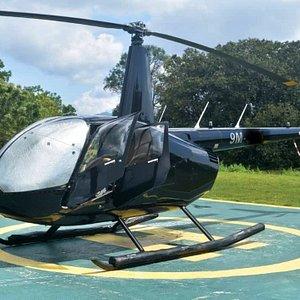 Robinson R44 (Side)