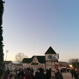 Il villaggio del segno del natale