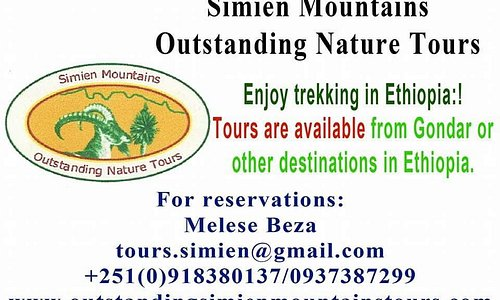 Simien Mountains Outstanding Nature Tours