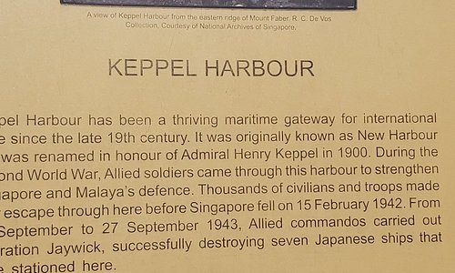Information about Keppel Harbour