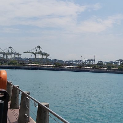 View towards Keppel Harbour