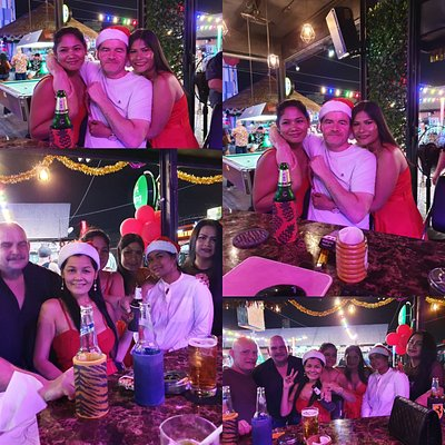 Xmas fun at lucky Bar.  Come join the new sensation of Otop Market.