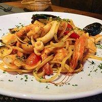Our linguine seefood