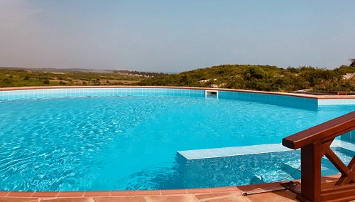 The Pool at the Rippels Lodge, a fun cool off & they also offer Swimming classes & water aerobics
