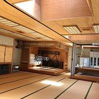 Big tatami room