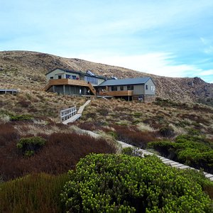Luxmore Hut along the Kepler Track