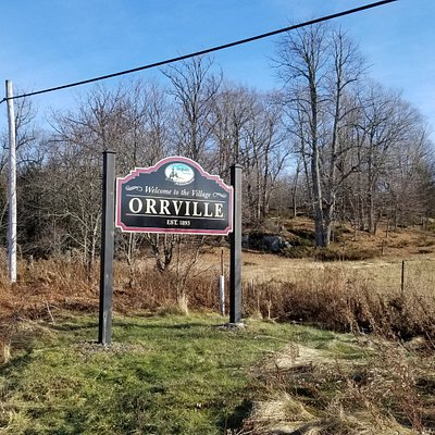 Orville and surrounding area.