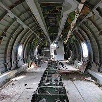 Cabin of AN-26 Passenger Plane