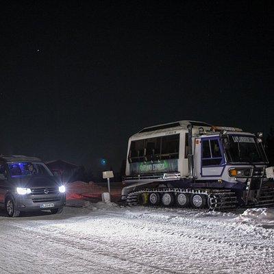 Snow Cat Tour Levi
