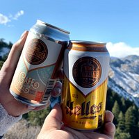 Our Cafe Con Leche Coffee Stout and our year round Helles Lager