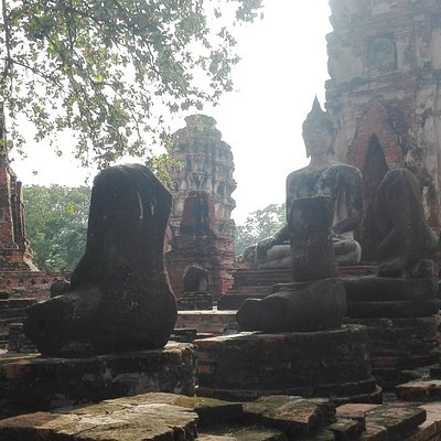 Ayutthaya day trip with my guests.