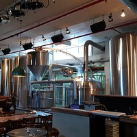 The Brewery inside