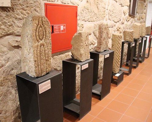 Uma das salas do Museu
