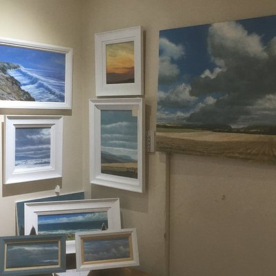 Possibly the smallest gallery in Wales!