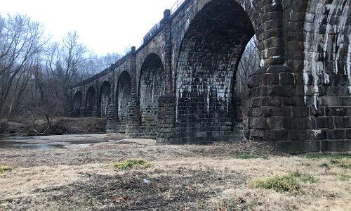 Thomas Viaduct, late December 2019.