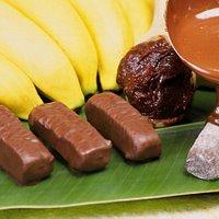 Bananinha com chocolate