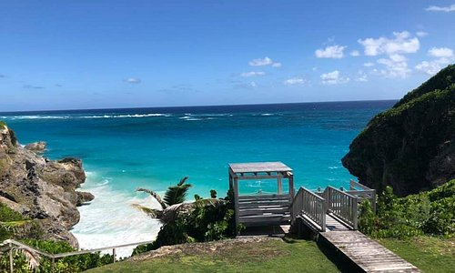 View from our vacation Rental in Barbados