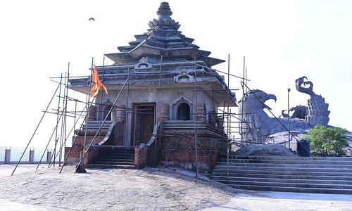 The revered Ram Mandir of Jatayu Nature Park
