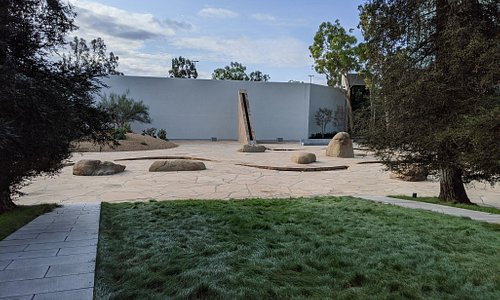 Noguchi Garden.  Just ignore the back wall of the parking deck