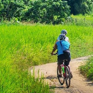 Cycling to explore new experience