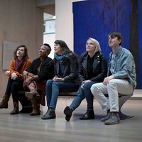 Clyfford Still Museum gallery teachers by Trevr Merchant
