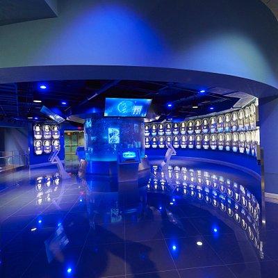 Les salles dédiées aux qualités pour être astronaute.