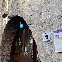Casa Jansei, original 15th century building, originally a private home, now private homes, shops and businesses.