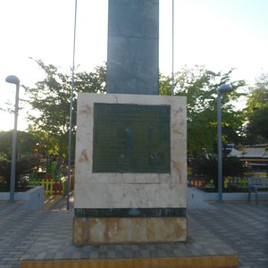 Luperon bay Heroes monument