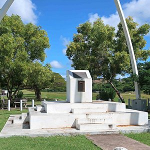 Airport Memorial to Troops Involved in the 1983 Invasion of Grenada