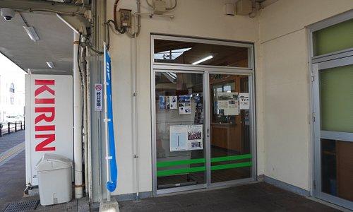 観光案内所入口(駅横側)