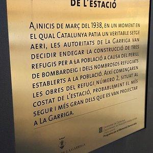 Refugio Antiaereo de La Garriga
