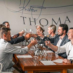 Single Vineyard Tasting at Thomas Wines
