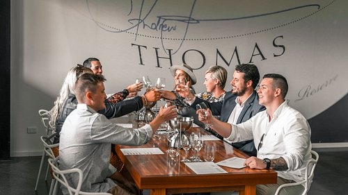 Single Vineyard Tasting at Thomas Wines