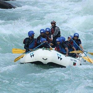 Rafting on Ganga