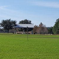 Fields and paved walking trails are plenty at this park.