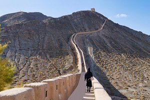 Great Wall going Up