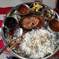 Kingfish thali