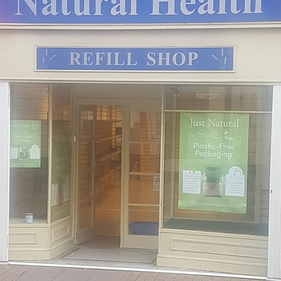 Lovely health food shop, ideal for vegans and people who like vitamins. The refill centre is fantastic, NO PLASTIC