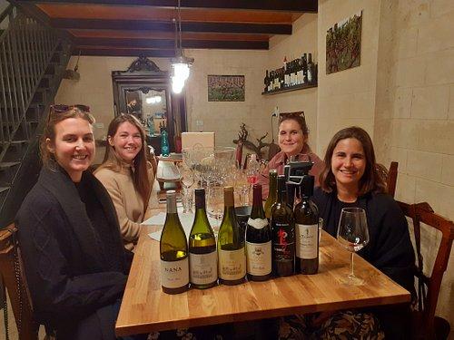 Wine tastings...