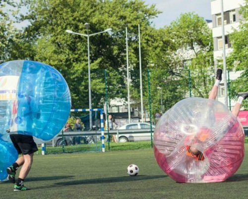 Bubble Football in Krakow (outdoor)