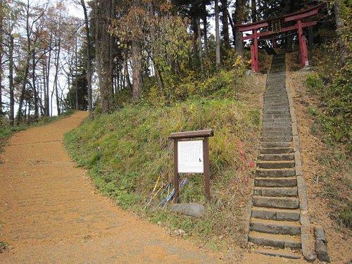 1神社登り口