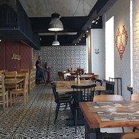 Wnętrze restauracji Slovenska Hisa- Figovec