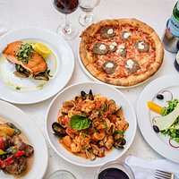 Authentic Italian Food in downtown West Palm Beach, Rosemary Square.