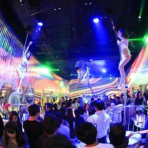 In the near future type celebrity in Ginza Tokyo store interior Miami / the Las Vegas club design image !!