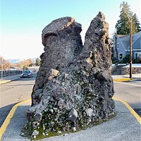 Pulpit Rock, which is right in the middle of an intersection