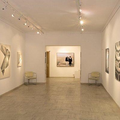 """""""L'oltre, l'altro e l'altrove"""" - Exhibition view (The Beyond and The Other)  Artworks by Veronica Della Porta, Olivier Fermariello, Gianfranco Toso"""