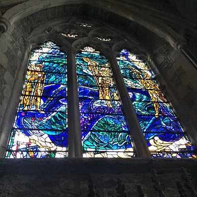 5.  The War Memorial Windows, The Parish Church of St Thomas the Martyr, Winchelsea, East Sussex